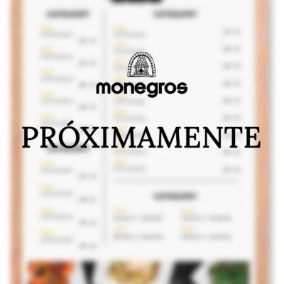 Menú restaurante Monegros