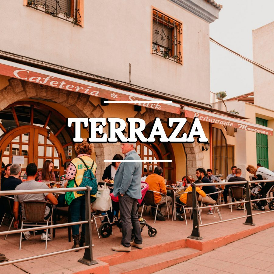 Terraza restaurante Sariñena